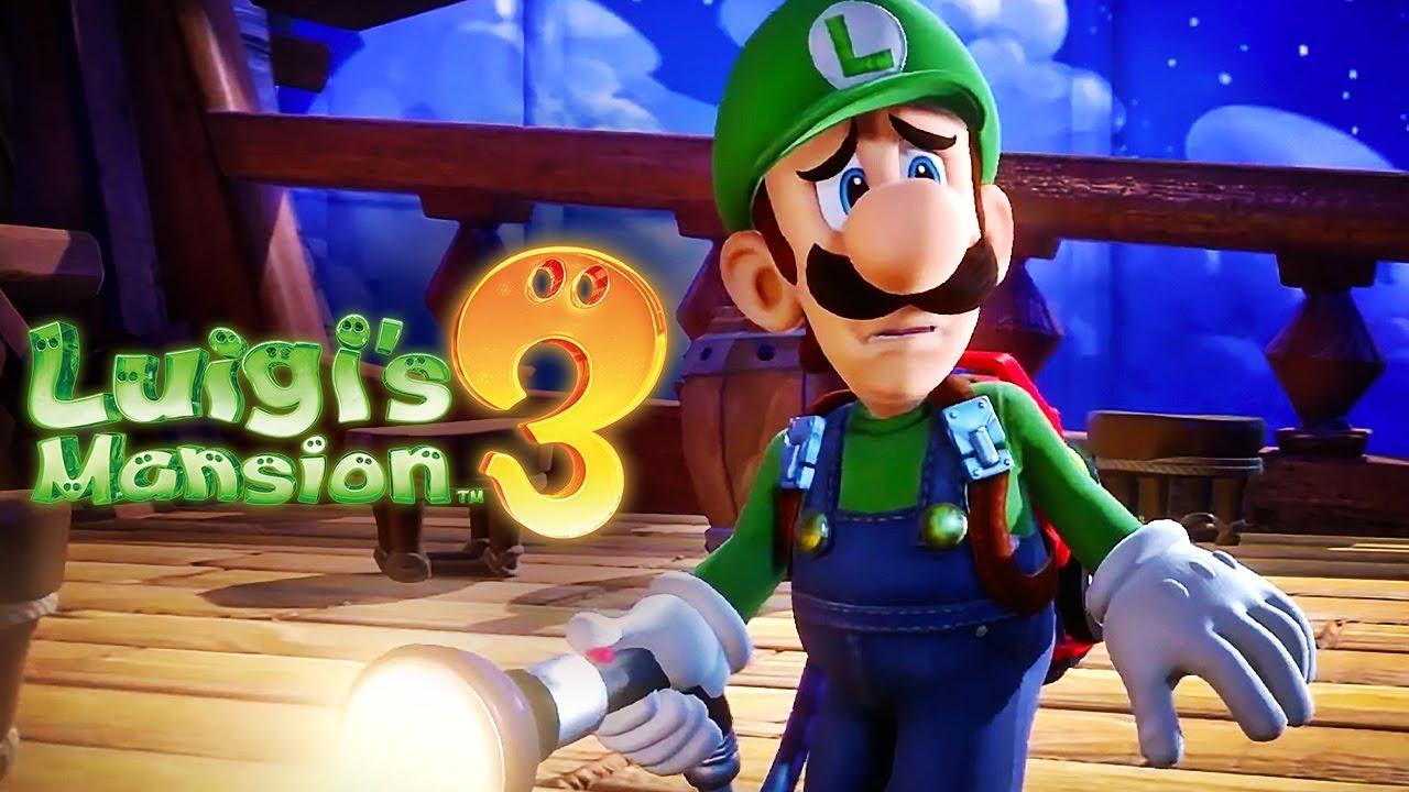 Επίσημο Gameplay Overview Trailer για το Luigis Mansion 3