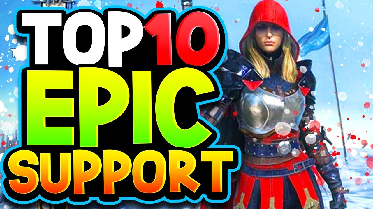 Top 10 EPIC SUPPORT Champions | 6 STAR THESE!