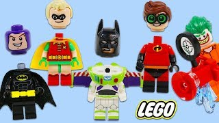 Jokers Plays Prank and Puts Wrong Heads on Lego Super Heroes!