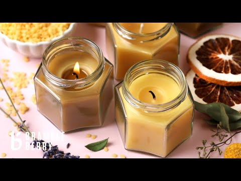 Anne-Marie & Flower Make Aromatherapy Beeswax Candles