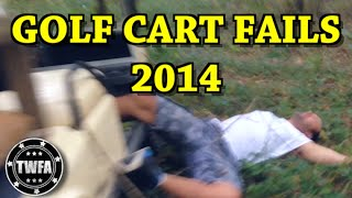epic golf cart fails