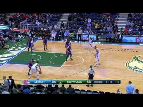 Detroit Pistons at Milwaukee Bucks - February 13, 2017
