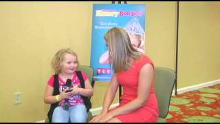 Honey Boo Boo and Melanie have a sit-down coversation