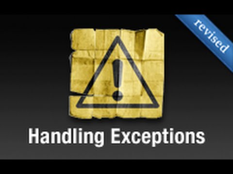 Ruby on Rails - Railscasts PRO #53 - Handling Exceptions (revised)
