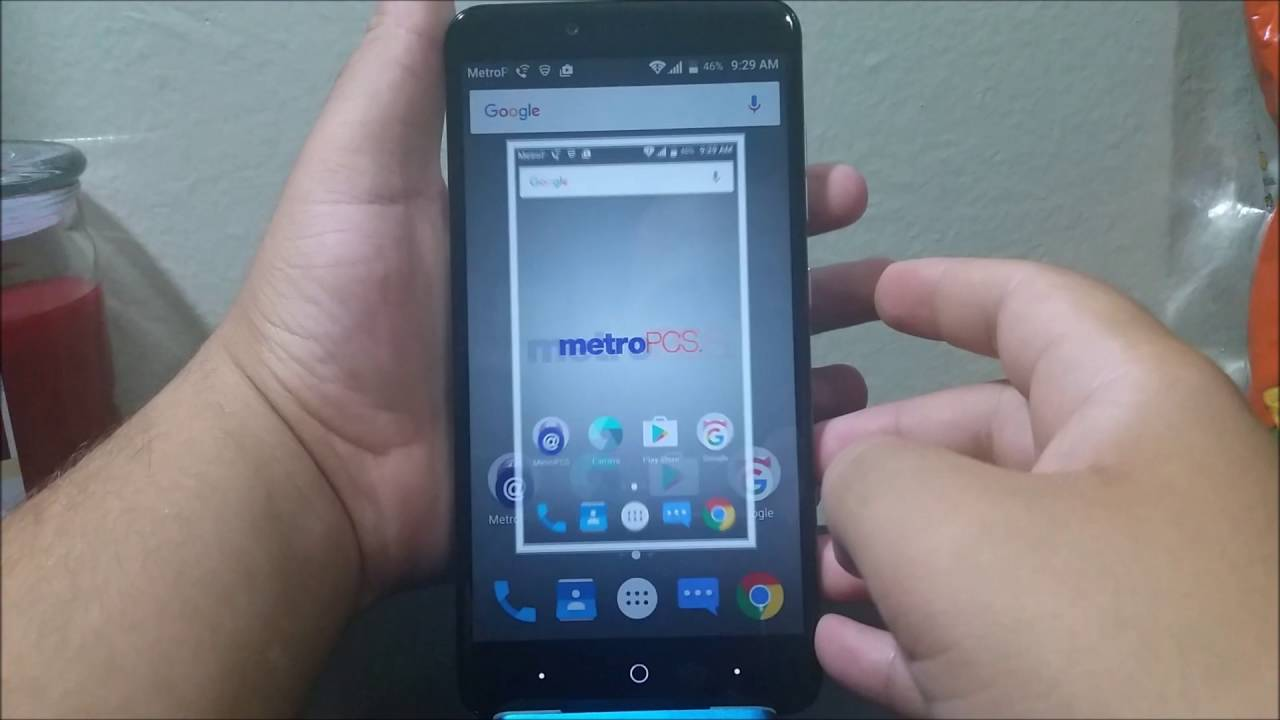 Metropcs Zte Zmax Pro How To Take A Screenshot