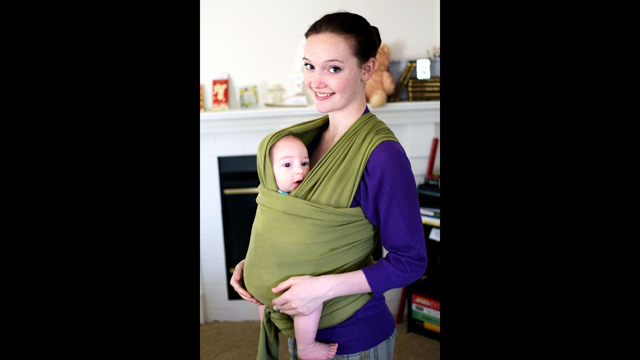 Moby Wrap How To Video Tutorial Mama Pye Front Carry Youtube