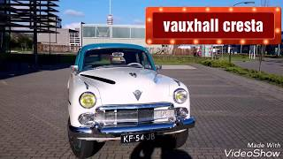 vauxhall cresta  1955  review / classic car / oldtimer /