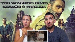 The Walking Dead Season 9: Official Comic-Con Trailer REACTION!!