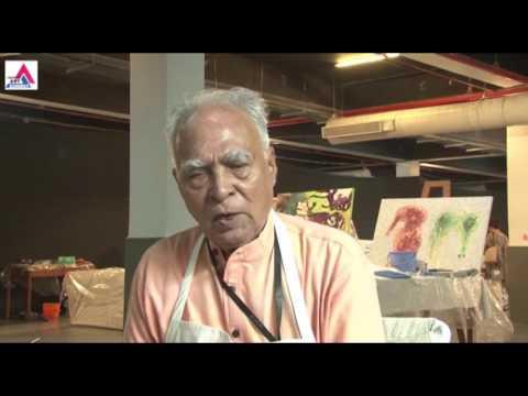 Shanti Dave in Jaipur Art Summit