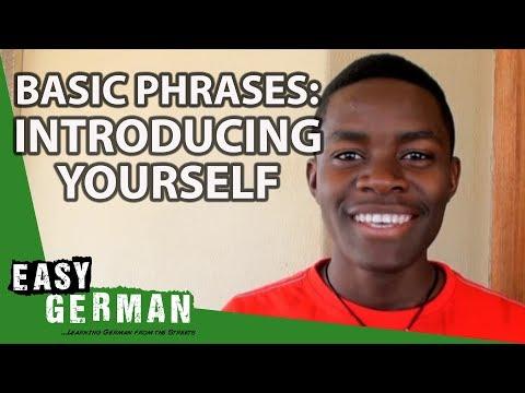 Giáo trình Học Tiếng Đức A1- Bài 3: Các câu thông dụng