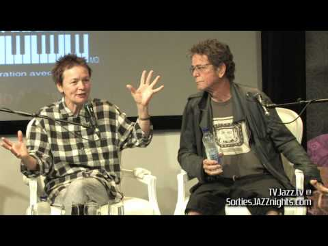 Laurie Anderson Lou Reed Press Conference- FIJM - TVJazz.tv