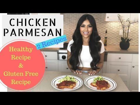 Healthy Chicken Parmesan + Gluten Free Option