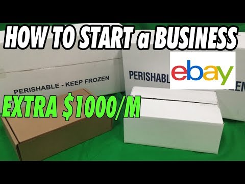 How To Start An Ebay Business Earn An Extra 959 A Month Youtube