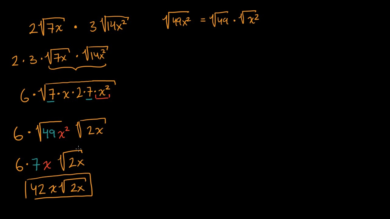 Simplifying Square Root Expressions Video Khan Academy Square root of numbers in the decimal form. simplifying square root expressions