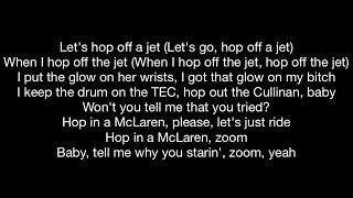 Young Thug feat. Travis Scott - Hop Off a Jet (Official Music Video Lyrics)