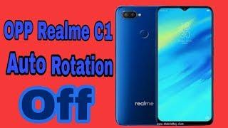 #Techyrakesh #realmec1Autorotate #Rotation Auto rotate off in realme C1 | Auto Rotation |