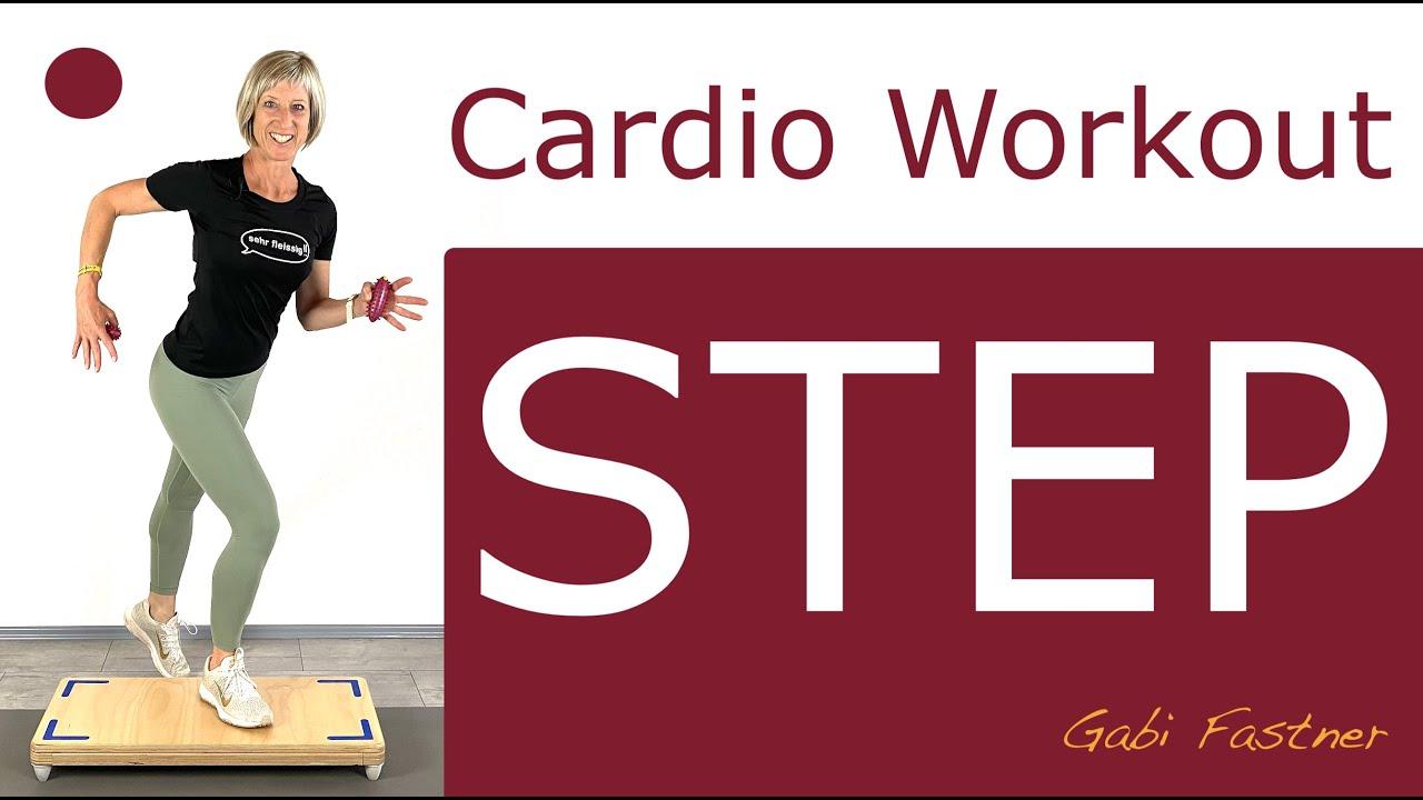 ✔️42 min. Cardio-Step-Workout   ca. 450 Kcal verbrennen