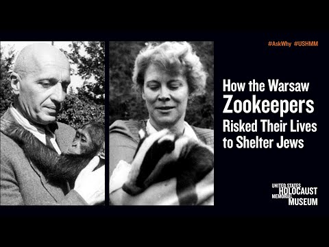 How The Warsaw Zookeepers Risked Their Lives To Shelter Jews