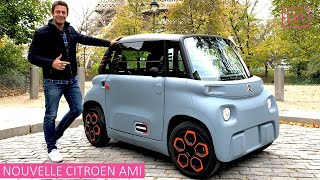New Citroen Ami - the 14 year olds can drive it !!!