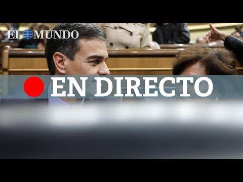 Debate de los Presupuestos en el Congreso de los Diputados, en directo