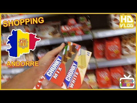 SHOPPING ANDORRA  - VLOG HD