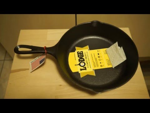 Overview Lodge Cast Iron 8 Skillet