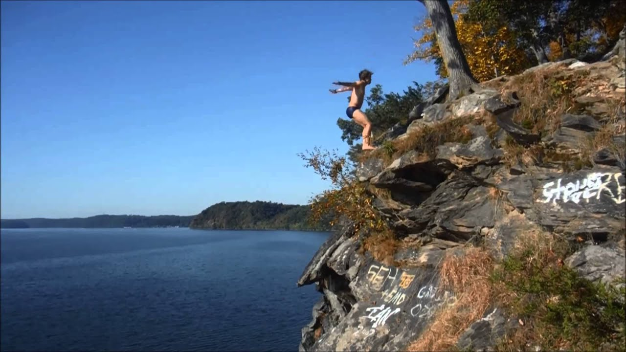 Cliff Diving In Conowingo Maryland Full Edit Youtube