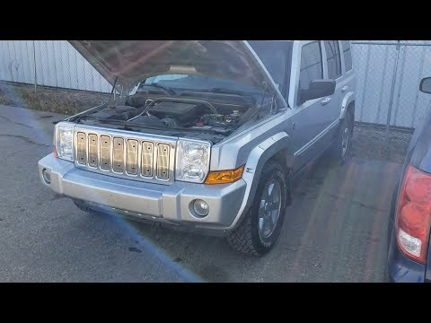 Jeep Commander - SERVICE 4WD SYSTEM - EASY FIX