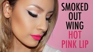 Easy Smoked out wing - Hot Pink Lip