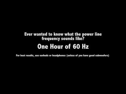 60 Hz of Sound
