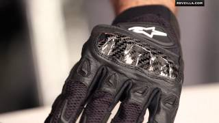 Alpinestars SMX 2 Air Carbon Gloves Review at RevZilla.com