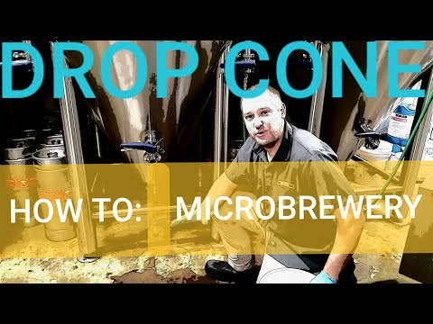 DROP CONE!! How To: MICROBREWERY! Beer Brewery Equipment!!