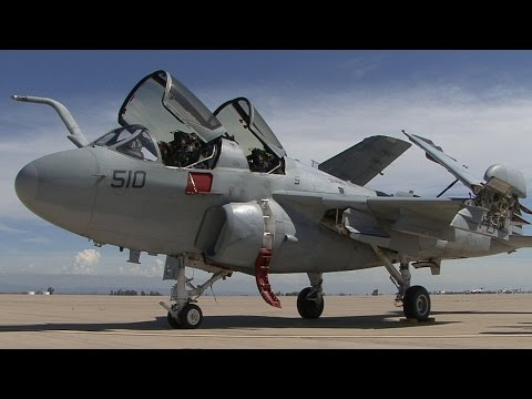 EA-6B PROWLER Arrives At The Castle Air Museum
