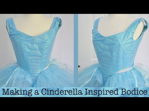 making-a-cinderella-inspired-dress-:-part-one