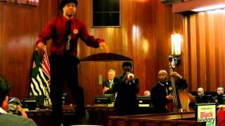 Black History Month Vancouver City Hall 2013: Jeni LeGon tribute