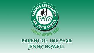 2015 Youth Sports Parent of the Year