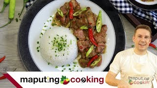 Maputing Cooking 2 - Bicol Express (Foreigner cooks Filipino food, speaks Tagalog)