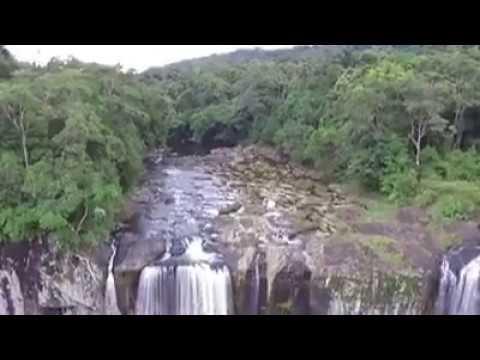 Waterfall in Binh Dinh province, Vietnam