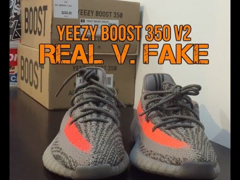33770a8ab87eb YEEZY V2 BELUGA REAL V. FAKE COMPARISON - YouTube