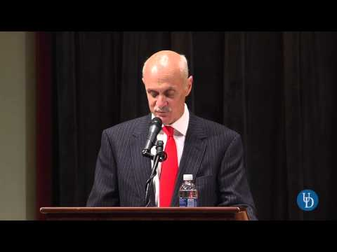 Security expert Michael Chertoff discusses cybersecurity challenges, solutions