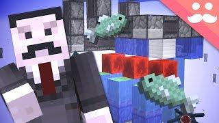MINECRAFT CHALLENGE: Building Redstone UNDERWATER!