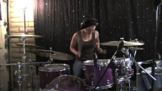 Lindsey Raye Ward - The Used - Put Me Out (Drum Cover)