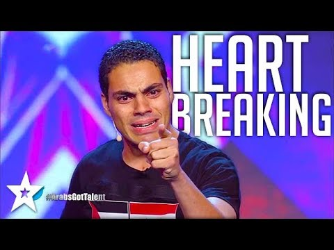 MOST EMOTIONAL AUDITION on Arabs Got Talent عمرو عمروسي - مص