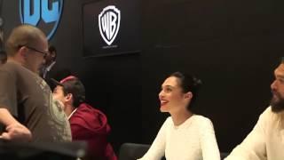 Justice league cast meets disable fan(must watch)