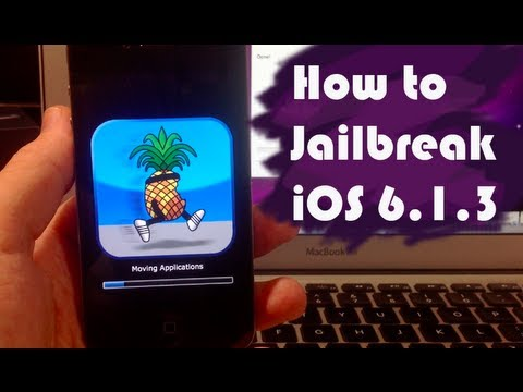 how to jailbreak an iphone 6 how to jailbreak ios 6 1 3 on iphone 4 3gs amp ipod touch 18894