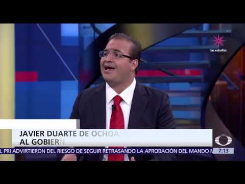 Javier Duarte responde a las acusaciones en su contra - Despierta, con Loret