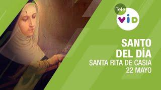 22 de mayo día de Santa Rita de Casia, Santo del Día - Tele VID