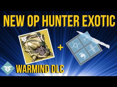 NEW HUNTER EXOTIC HELMET! WORMHUSK CROWN - WARMIND DLC - DESTINY 2