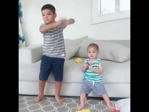 Dance Lucu Dari Abang Juna Dan Kaiattar Anak Bunda Titi Kamal