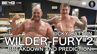 RICKY HATTON: WILDER-FURY 2 PREDICTION, CORNERING TYSON IN 1ST FIGHT, WHAT IT'S LIKE TO BOX IN VEGAS